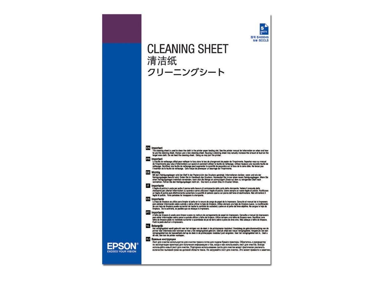 Cleaning sheets reinigungsblaetter fuer surecolor sc p10000 sc p20000 sc p20000se sc p5000 sc p5000 std spectro 6376950 c13s400045