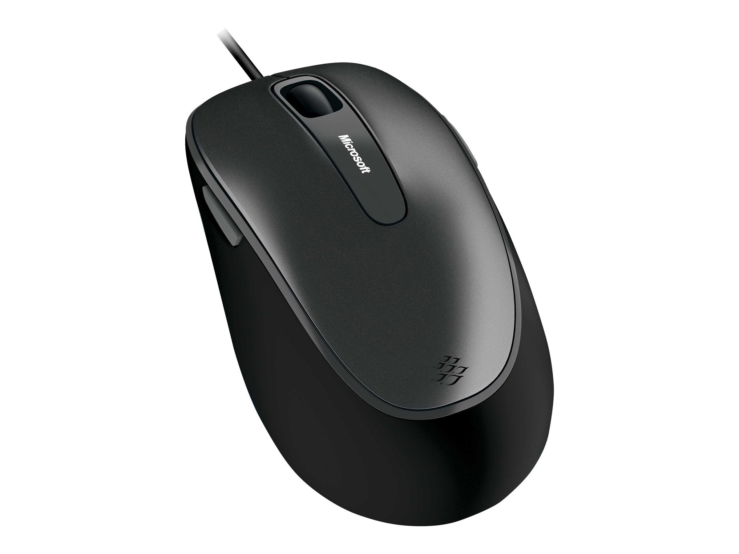 Comfort mouse 4500 maus optisch 5 tasten kabelgebunden usb 2996969 4fd 00023