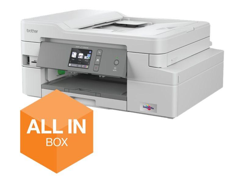 Dcp j1100dw multifunktionsdrucker farbe tintenstrahl legal 216 x 356 mm original a4 letter medien 10071074 dcpj1100dwun1