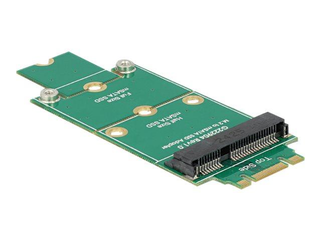 Delock adapter msata m 2 ngff speicher controller msata msata m 2 card 4812145 62591