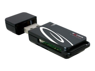 Delock usb 2 0 cardreader 18 in 1 kartenleser 18 in 1 mmc sd minisd rs mmc transflash mmcmobile microsd mmcplus mmcmicro sdhc microsdhc usb 2 0 1116745 91667
