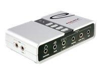 Delock usb sound box 7 1 soundkarte 7 1 usb 2 0 1360921 61803