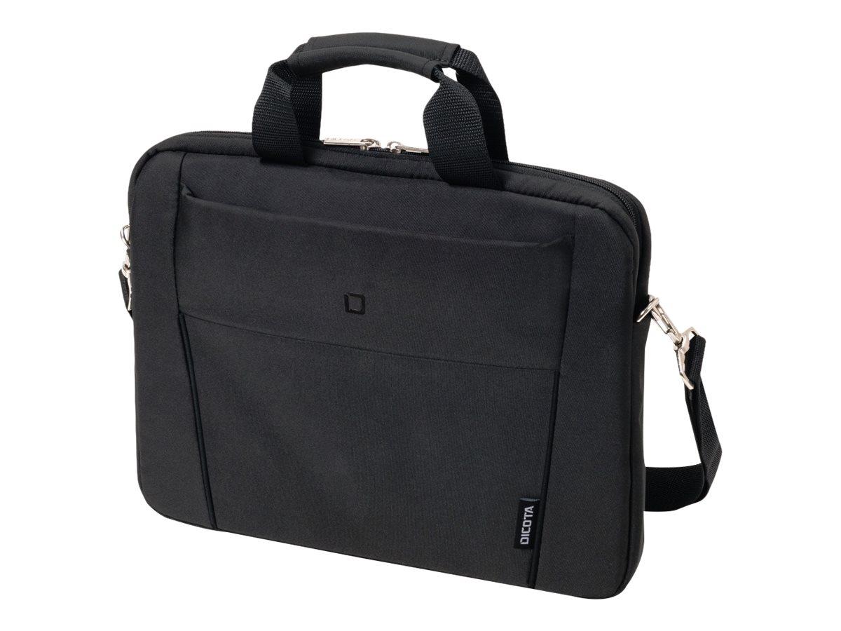 Dicota slim case base notebook tasche 39 6 cm 15 15 6 schwarz 7696028 d31308