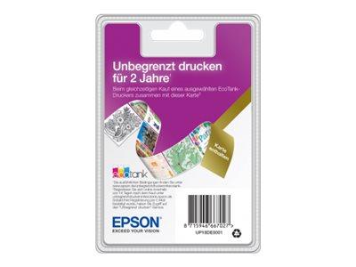 Ecotank unlimited printing abonnement lizenz 2 jahre muss innerhalb von 14 tagen nach dem kauf aktiviert werden deutschland fuer ecotank et 2712 10934396 up18de0001