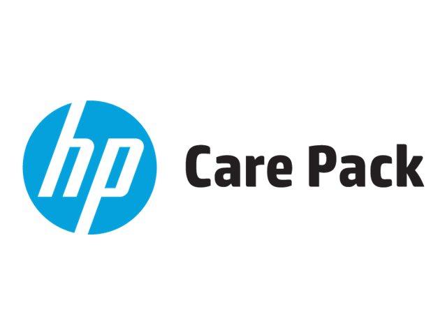 Electronic hp care pack next business day hardware support serviceerweiterung arbeitszeit und ersatzteile 4 jahre vor ort 9x5 212250 u7934e