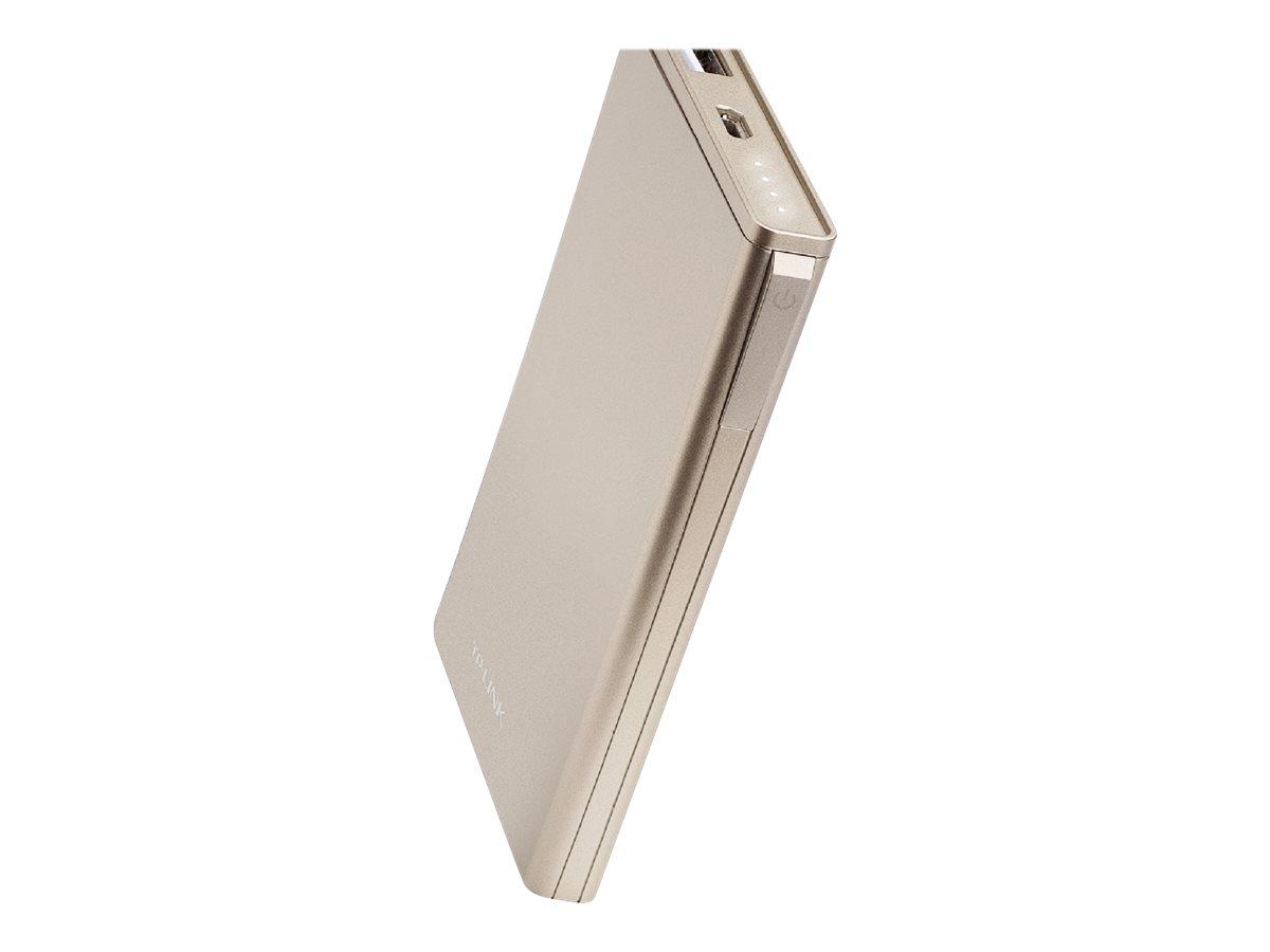 Elite series tl pbb6000 powerbank 6000 mah 2 4 a usb auf kabel micro usb gold 10052550 tl pbb6000