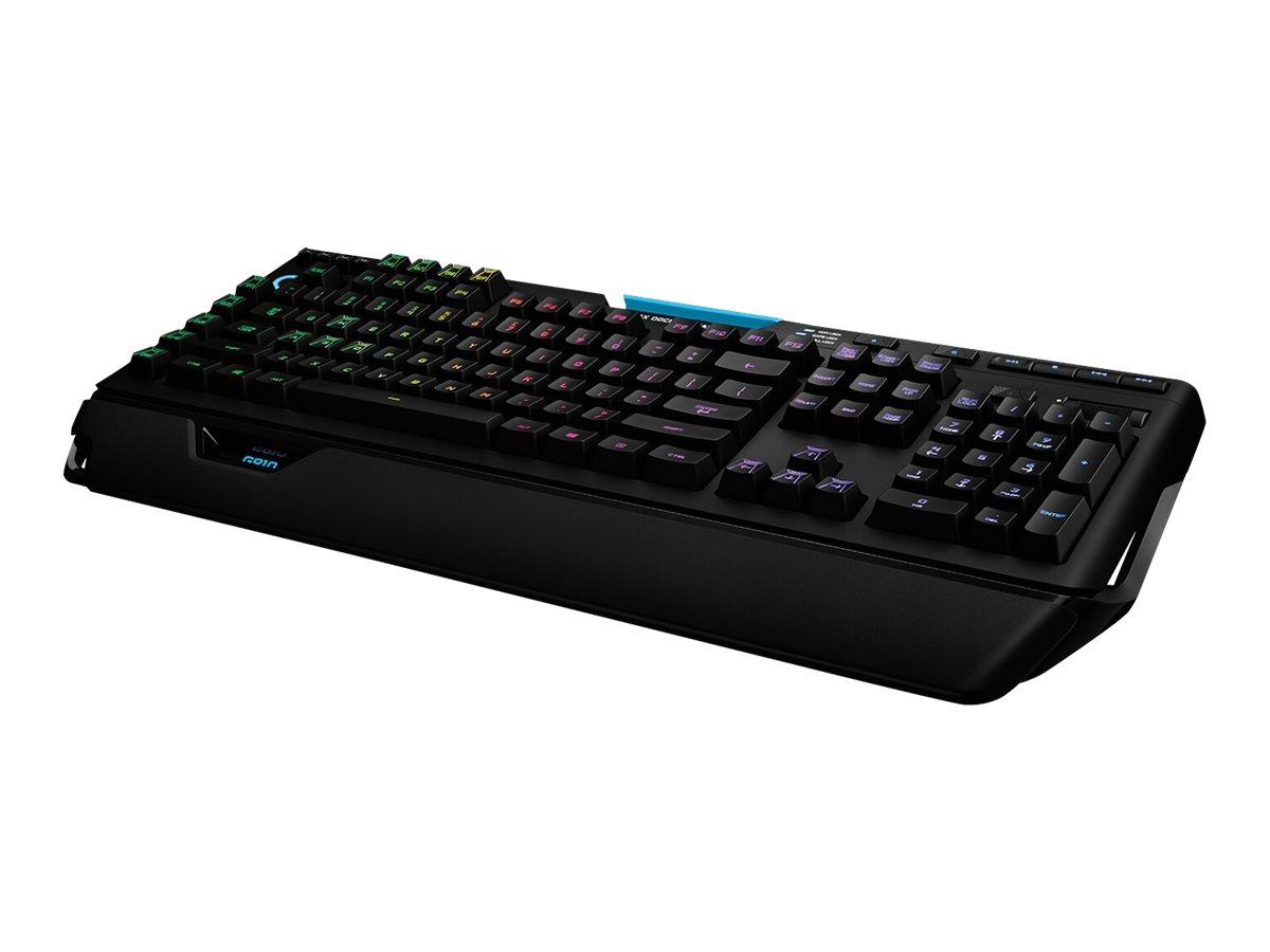 G910 orion spectrum rgb mechanical gaming tastatur hintergrundbeleuchtet usb usa international tastenschalter romer g 7304582 920 008018