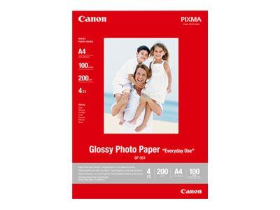 Gp 501 glaenzend 100 x 150 mm 170 g m 10 blatt fotopapier fuer pixma ip5300 ip90 mini260 mp180 mp490 mp510 mp550 mp560 mp600 mp810 mp960 mx330 2986182 0775b005