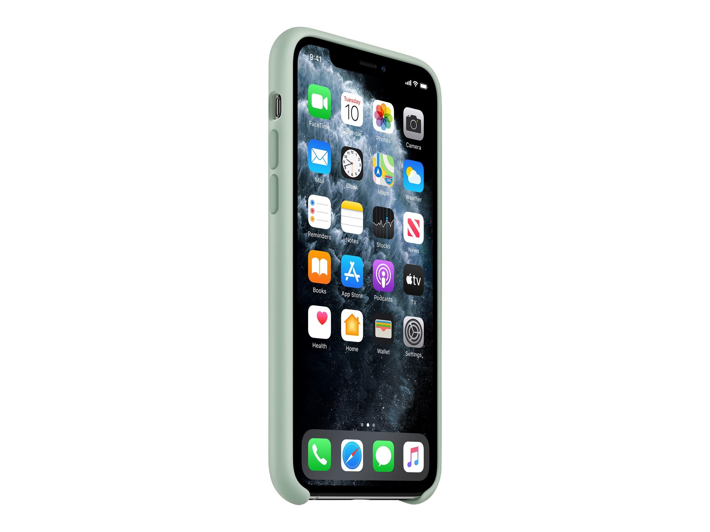 Hintere abdeckung fuer mobiltelefon silikon beryl fuer iphone 11 pro 12026122 mxm72zm a