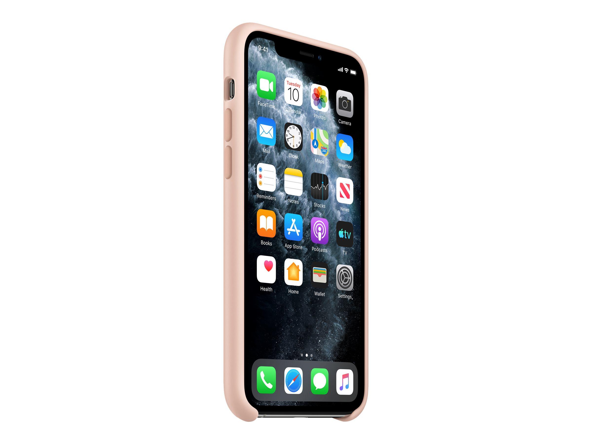 Hintere abdeckung fuer mobiltelefon silikon rosa sandfarben fuer iphone 11 pro 11867120 mwym2zm a