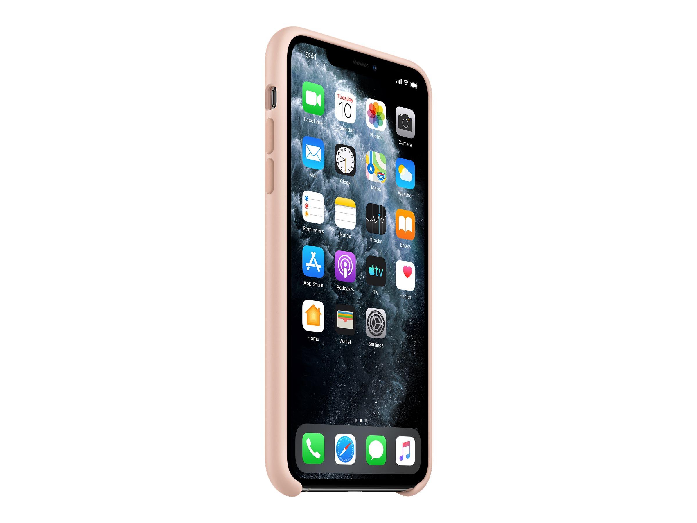 Hintere abdeckung fuer mobiltelefon silikon rosa sandfarben fuer iphone 11 pro max 11867128 mwyy2zm a