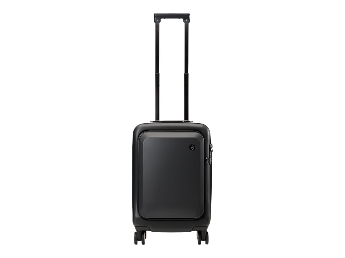 Hp all in one carry on luggage koffer mit rollen fuer tablet notebook hardside pc abs schwarz 15 6 11941858 7ze80aa