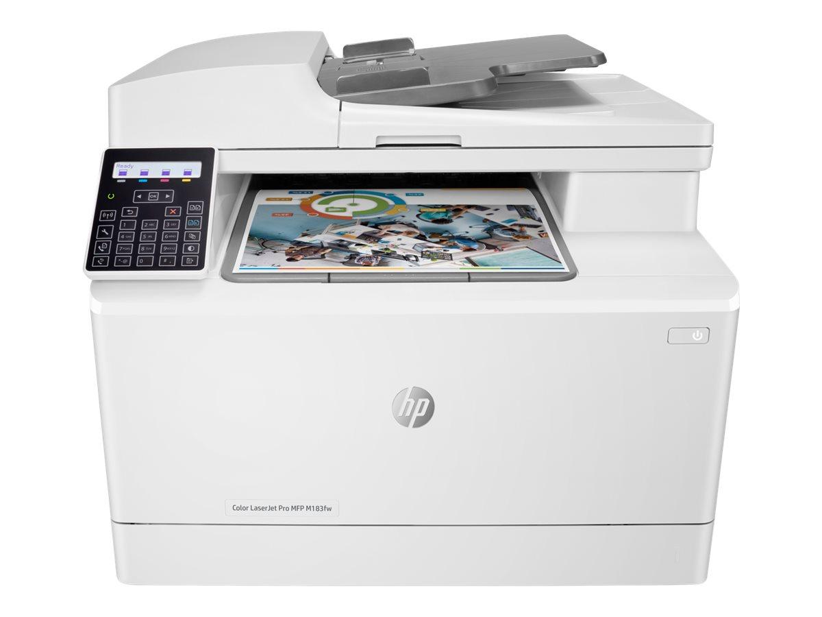 Hp color laserjet pro mfp m183fw multifunktionsdrucker farbe laser 216 x 297 mm original a4 legal medien 12035838 7kw56a b19