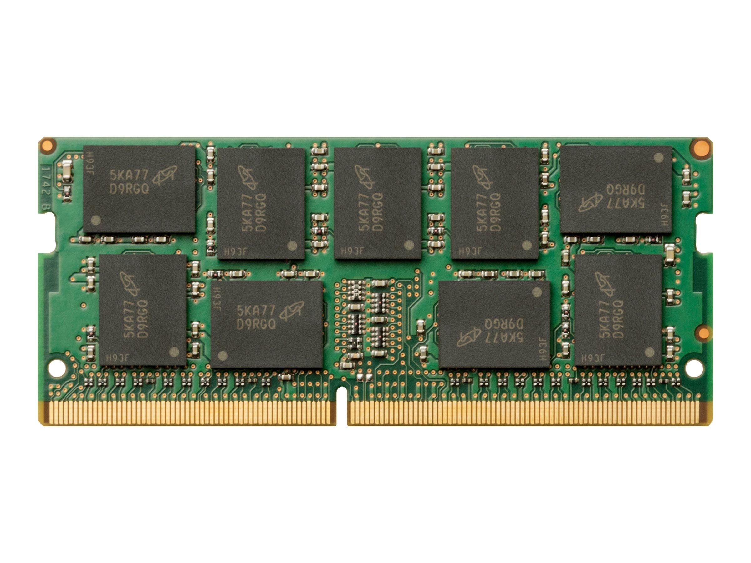Hp ddr4 16 gb dimm 288 pin 2666 mhz pc4 21300 1 2 v 8453363 1xd85aa