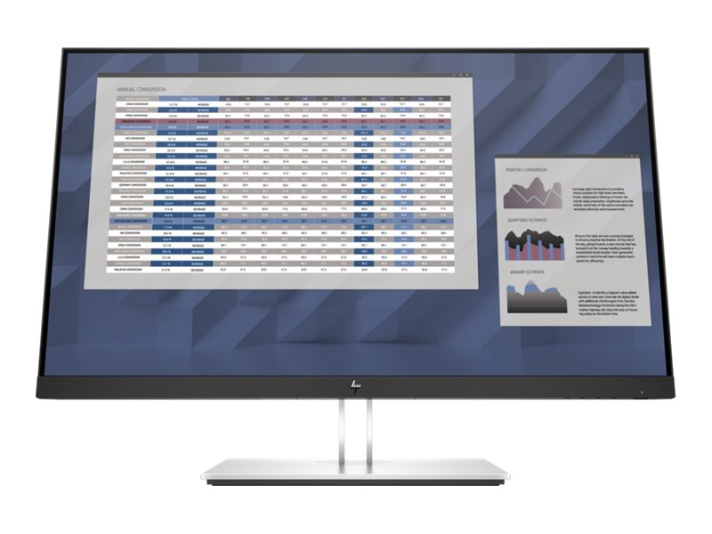 Hp e27 g4 e series led monitor 68 6 cm 27 27 sichtbar 1920 x 1080 full hd 1080p 60 hz ips 15428747 9vg71aa abb