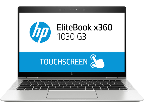 Hp elitebook x360 1030 g3 flip design core i5 8250u 1 6 ghz win 10 pro 64 bit 8 gb ram 256 gb ssd nvme tlc 9039152 4qy26ea abd