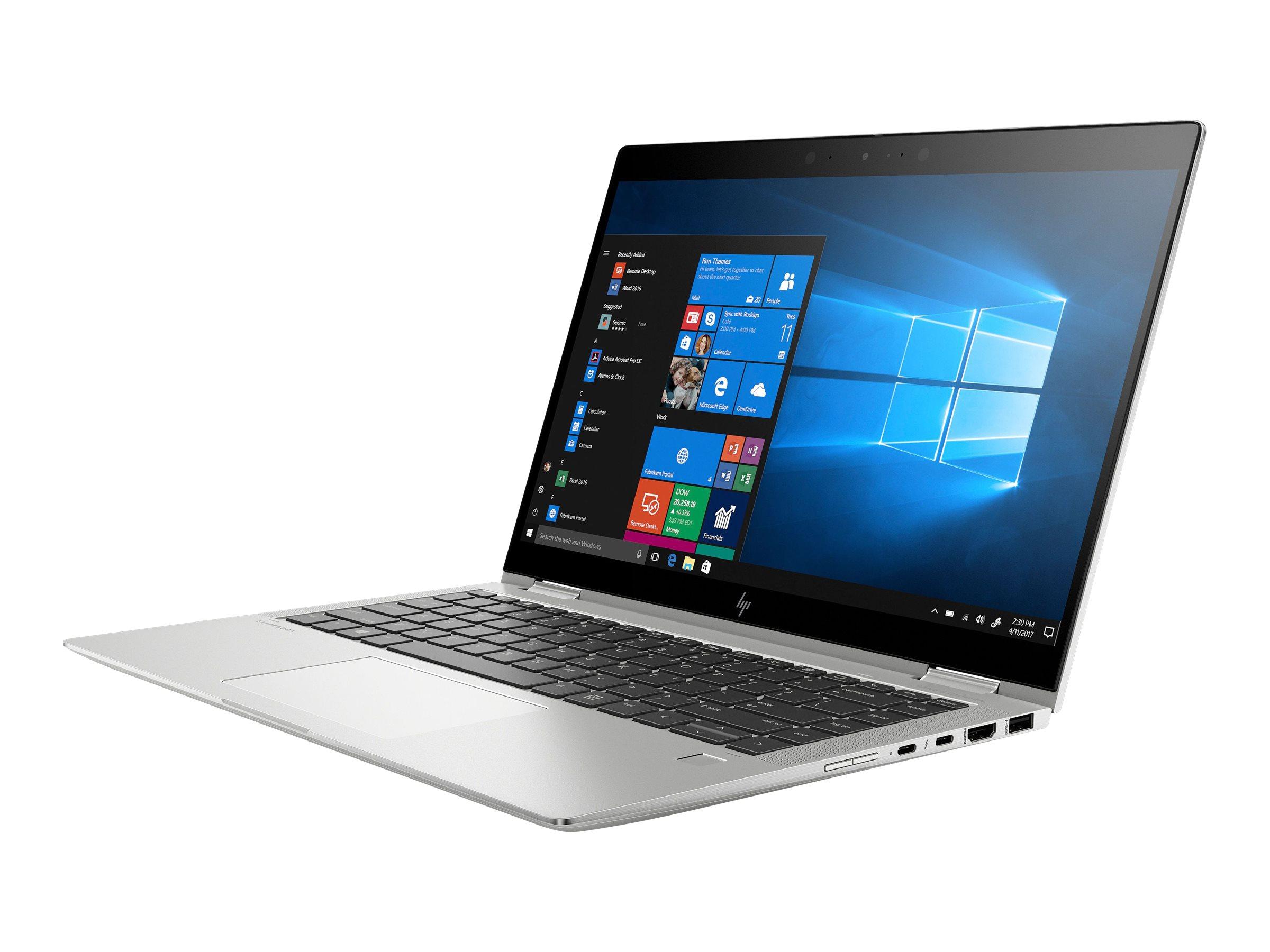 Hp elitebook x360 1040 g6 flip design core i5 8265u 1 6 ghz win 10 pro 64 bit 8 gb ram 256 gb ssd nvme hp value 11705733 7kn35ea abd