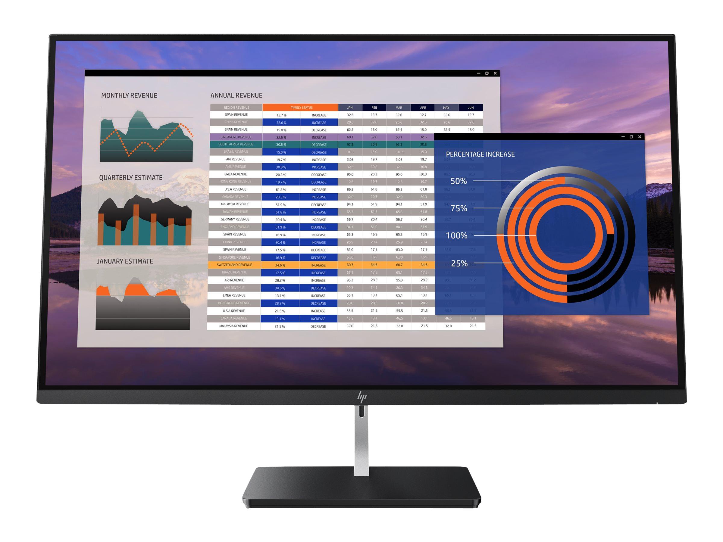 Hp elitedisplay s270n led monitor 68 6 cm 27 3840 x 2160 4k ips 350 cd m 8492123 2pd37aa abb