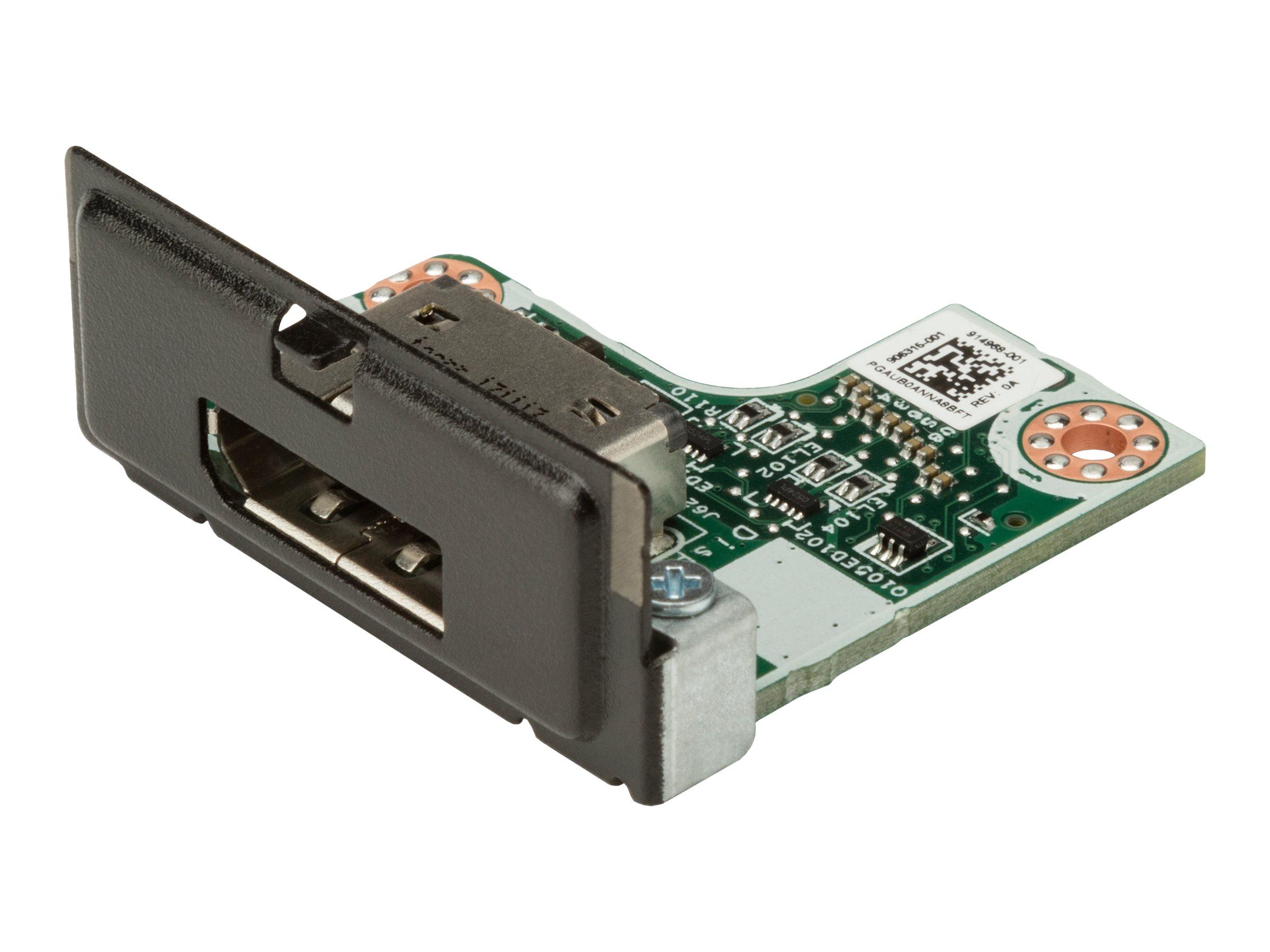 Hp flex io card usb c 3 1 port fuer workstation z2 g4 z2 mini g4 entry z2 mini g4 high performance z2 mini g4 performance 9324242 4ky84aa