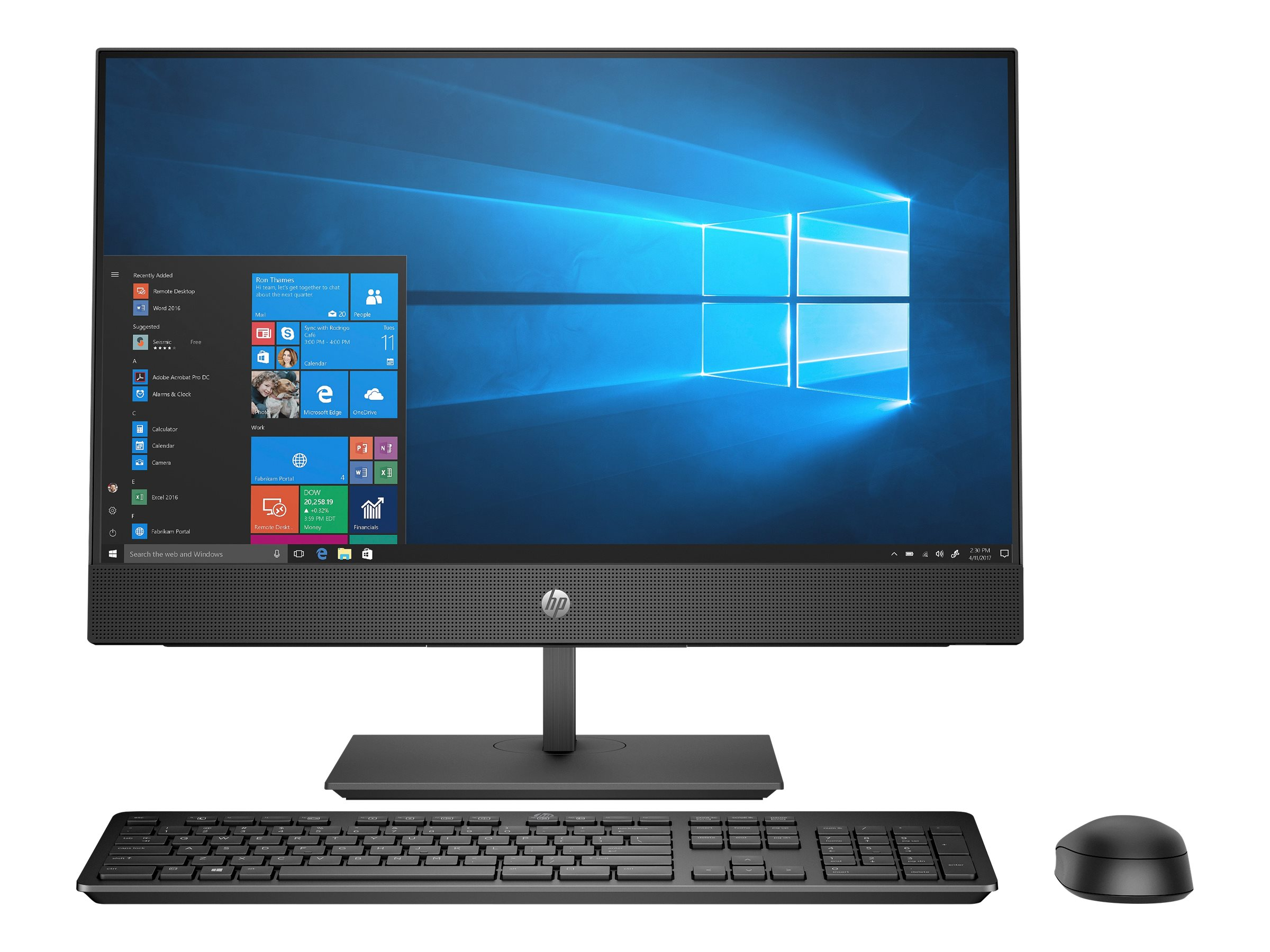 Hp proone 440 g4 all in one komplettloesung 1 x core i5 8500t 2 1 ghz ram 16 gb ssd 512 gb nvme 9319967 4hs10ea abd