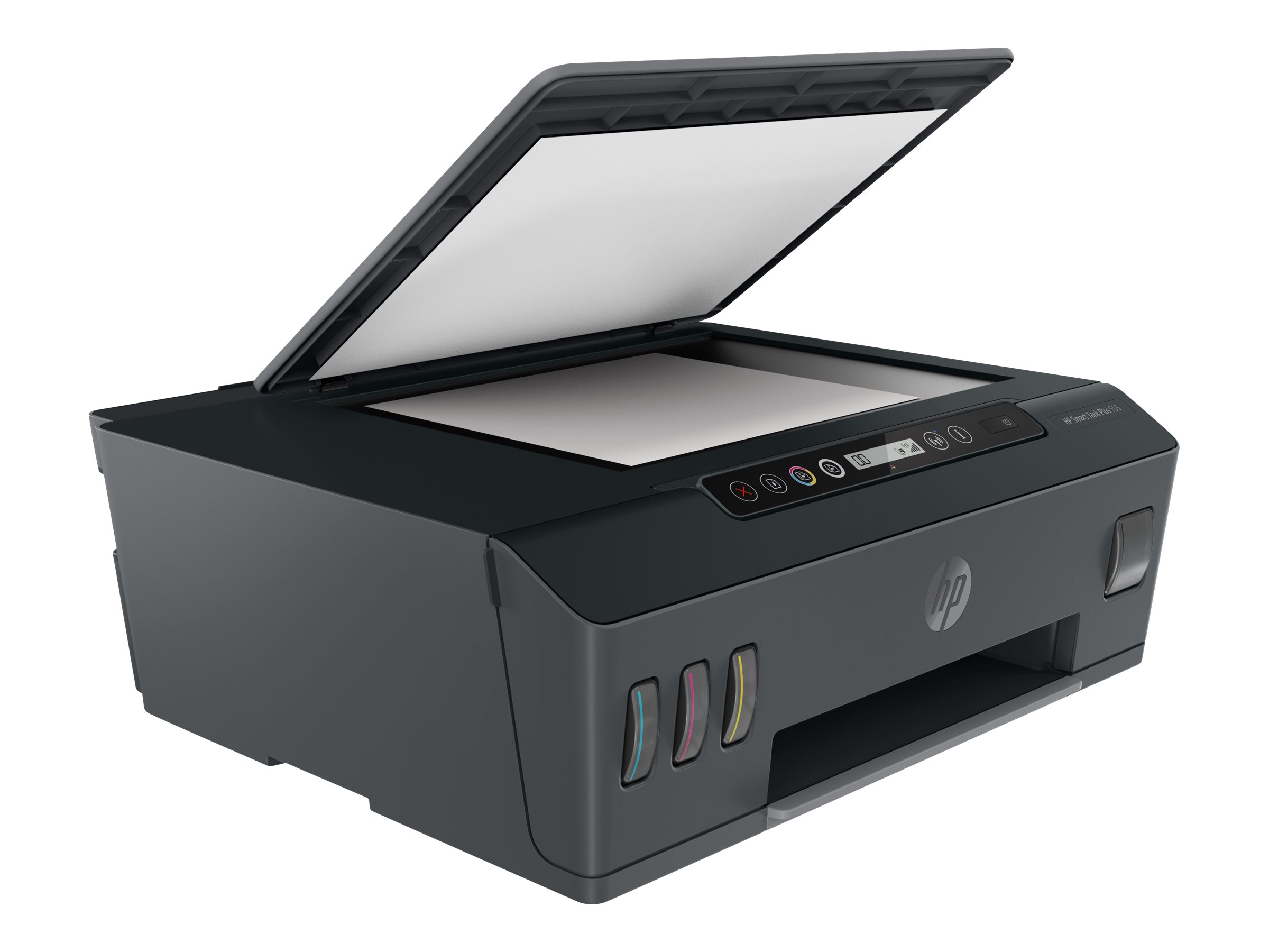 Hp smart tank plus 555 all in one multifunktionsdrucker farbe tintenstrahl refillable legal 216 x 356 mm original 11997706 1tj12a bhc