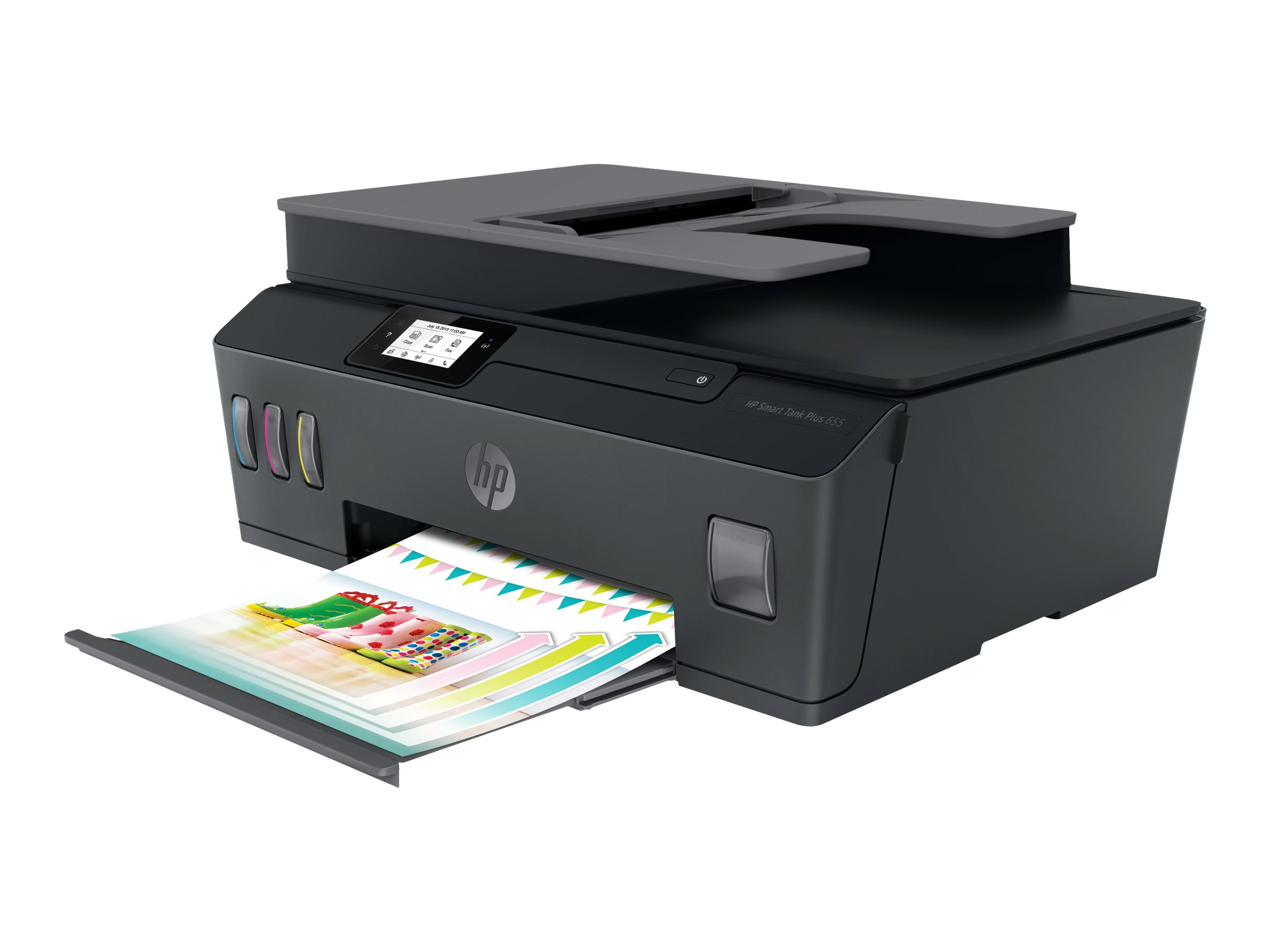 Hp smart tank plus 655 wireless all in one multifunktionsdrucker farbe tintenstrahl legal 216 x 356 mm original a4 legal medien 11981743 y0f74a bhc
