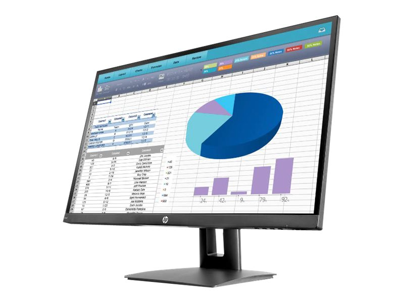 Hp vh27 led monitor 68 58 cm 27 27 sichtbar 1920 x 1080 full hd 1080p ips 250 cd m 8954642 3pl18aa abb