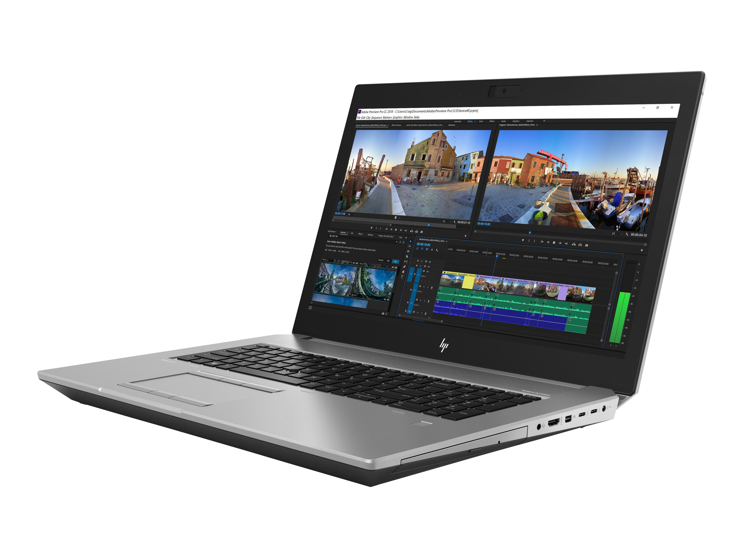 Hp zbook 17 g5 mobile workstation core i7 8750h 2 2 ghz win 10 pro 64 bit 16 gb ram 512 gb ssd nvme blu ray writer 10686566 4qh65ea abd
