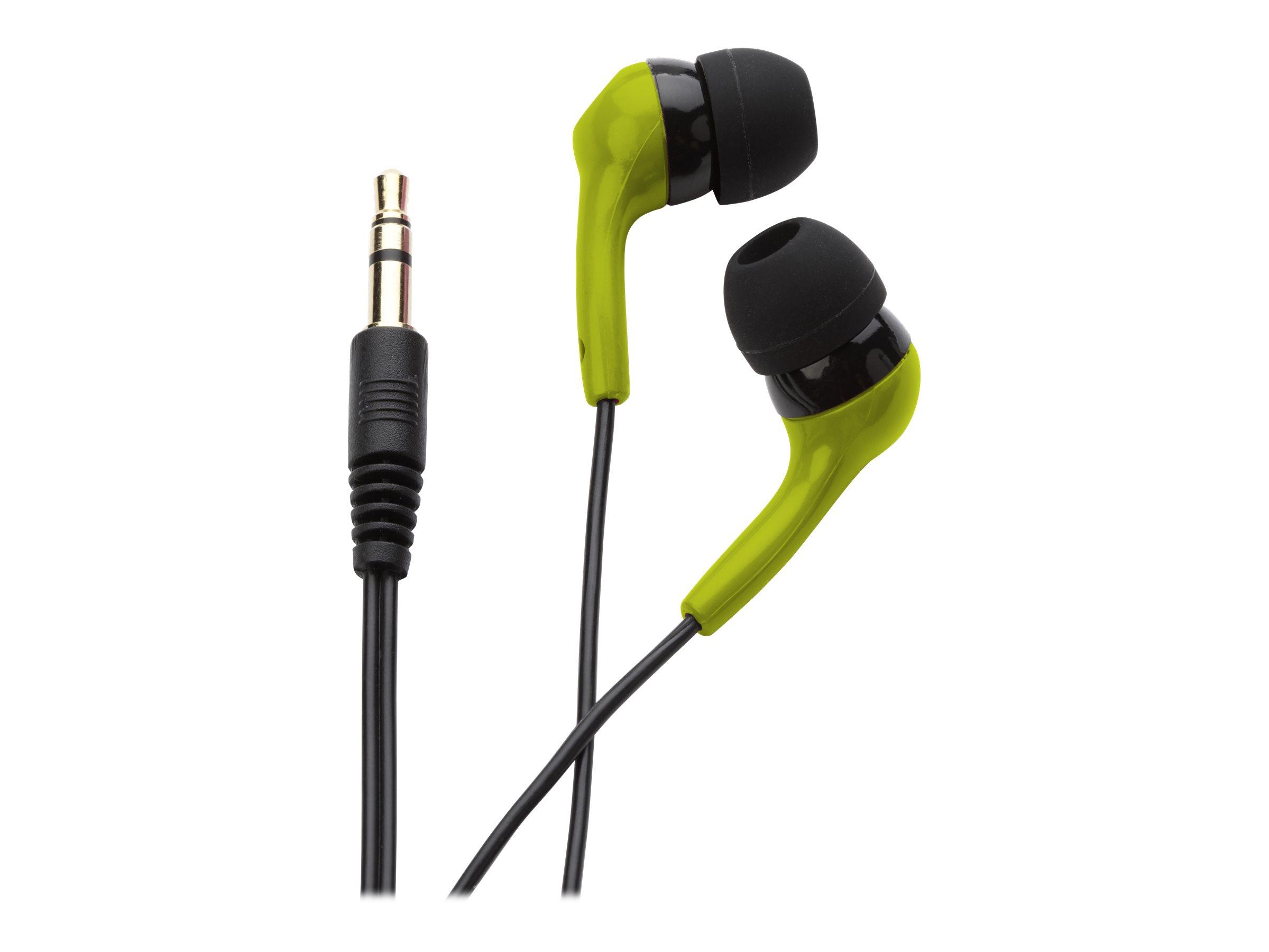 Ifrogz earpollution bolt ohrhoerer im ohr kabelgebunden 3 5 mm stecker gruen 8599306 ep blt grn