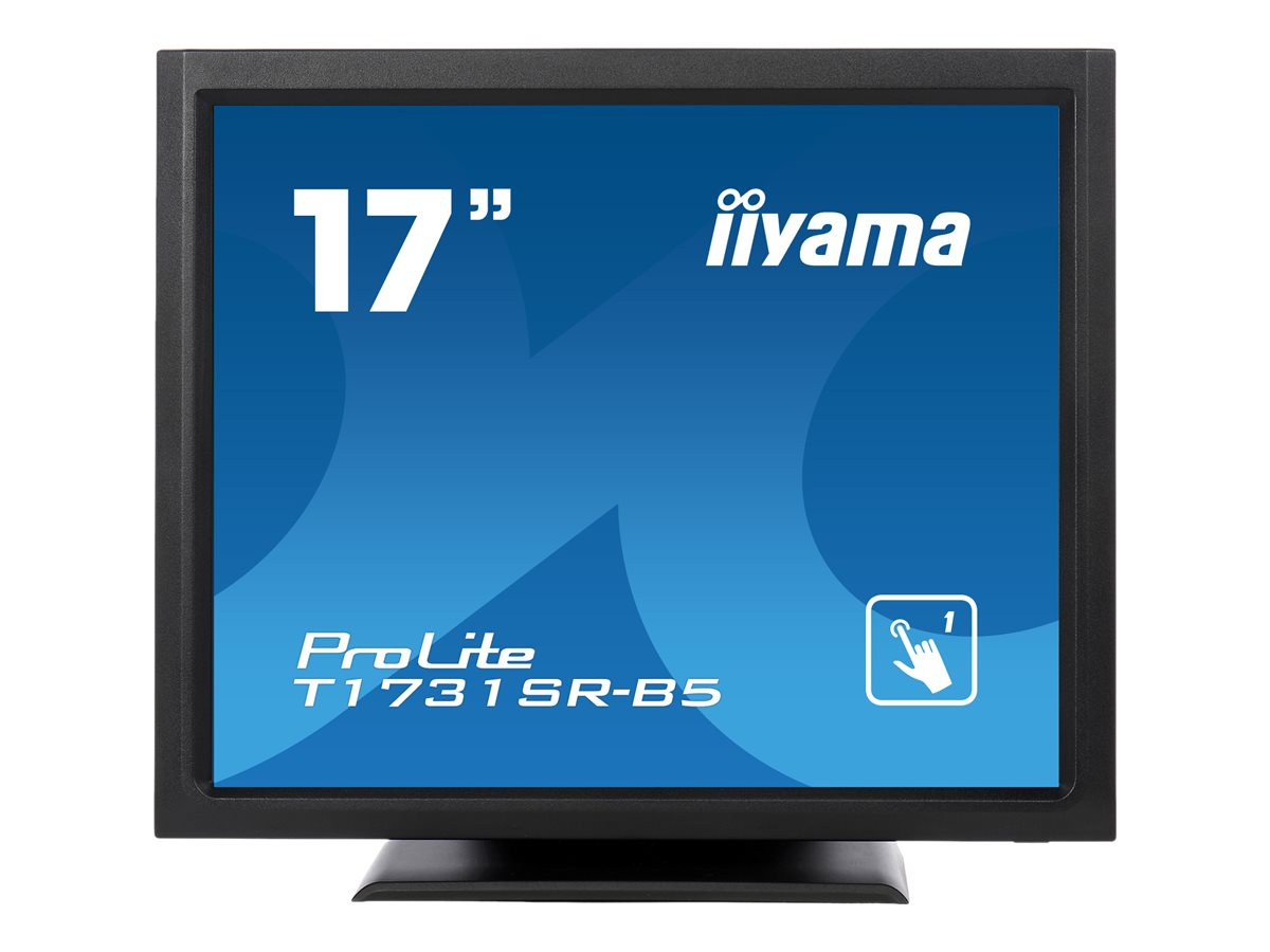 Iiyama prolite t1731sr b5 led monitor 43 cm 17 touchscreen 1280 x 1024 tn 9006175 t1731sr b5
