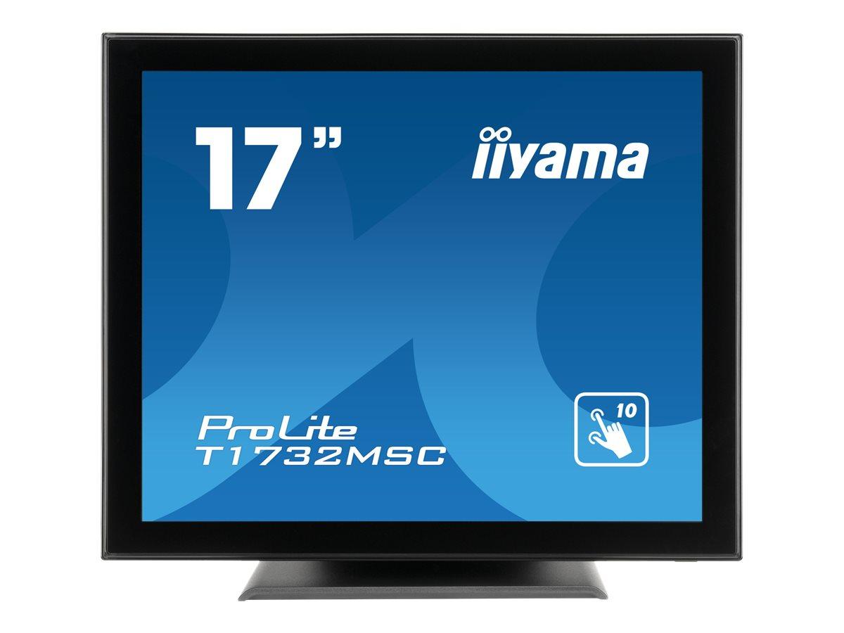 Iiyama prolite t1732msc b5x led monitor 43 cm 17 17 sichtbar touchscreen 1280 x 1024 tn 8859801 t1732msc b5x
