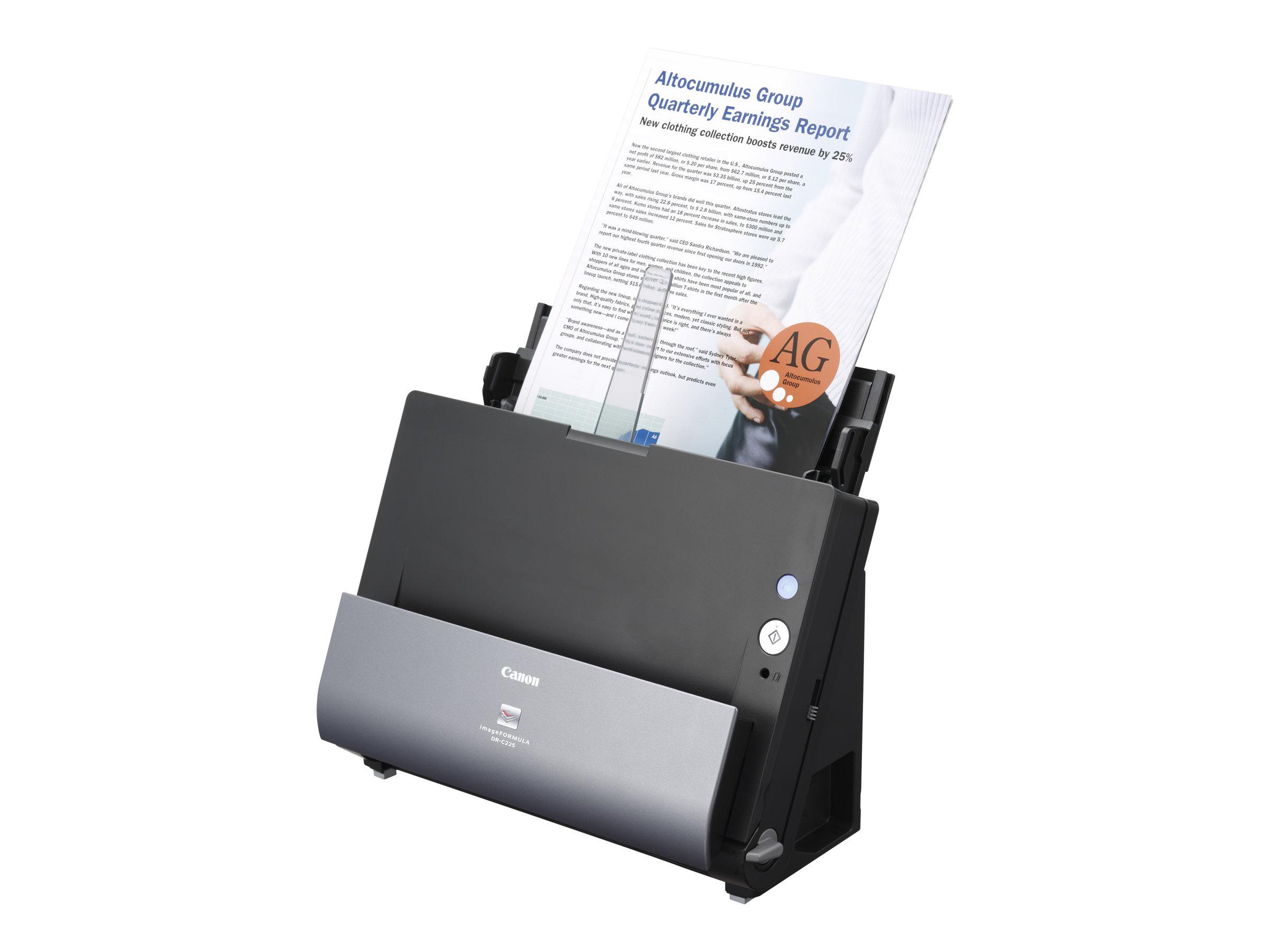 Imageformula dr c225w ii dokumentenscanner duplex 600 dpi x 600 dpi bis zu 25 seiten min einfarbig bis zu 25 seiten min farbe automatischer dokumenteneinzug 30 blaetter 9348482 3259c003