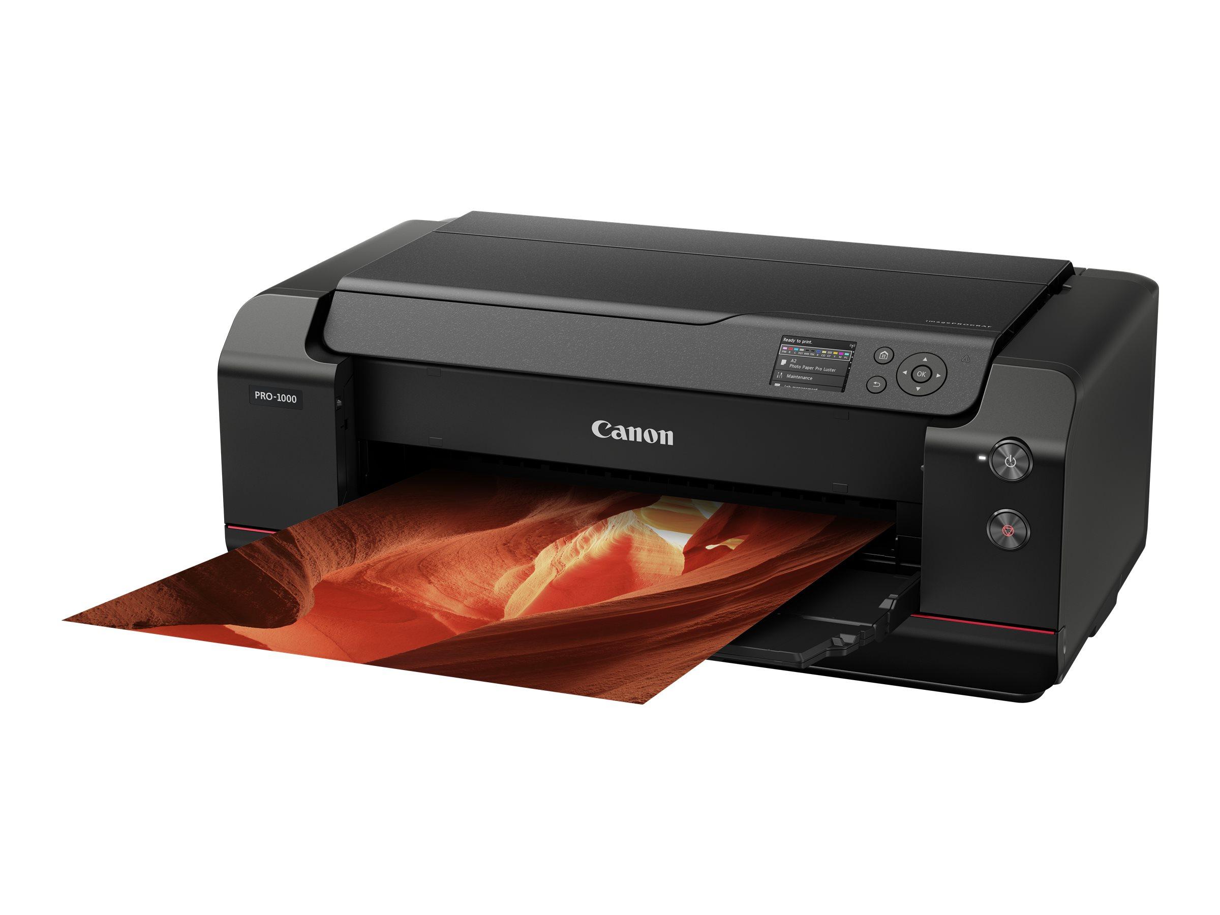 Imageprograf pro 1000 432 mm 17 grossformatdrucker farbe tintenstrahl 431 8 x 558 8 mm 2400 x 1200 dpi bis zu 3 58 min seite farbe 5737469 0608c025