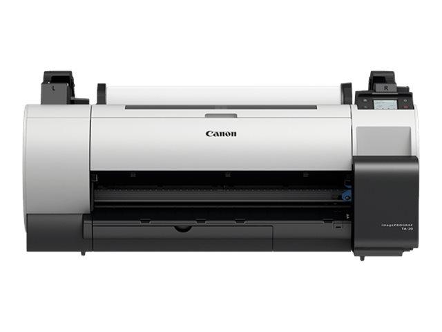 Imageprograf ta 20 610 mm 24 grossformatdrucker farbe tintenstrahl rolle a1 61 0 cm usb 2 0 gigabit lan wi fi n 12103859 3659c003