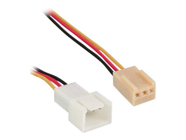 Inline verlaengerungskabel fuer luefterspannungsversorgung molex 3 polig w bis molex 3 polig m 60 cm 1202626 33328l