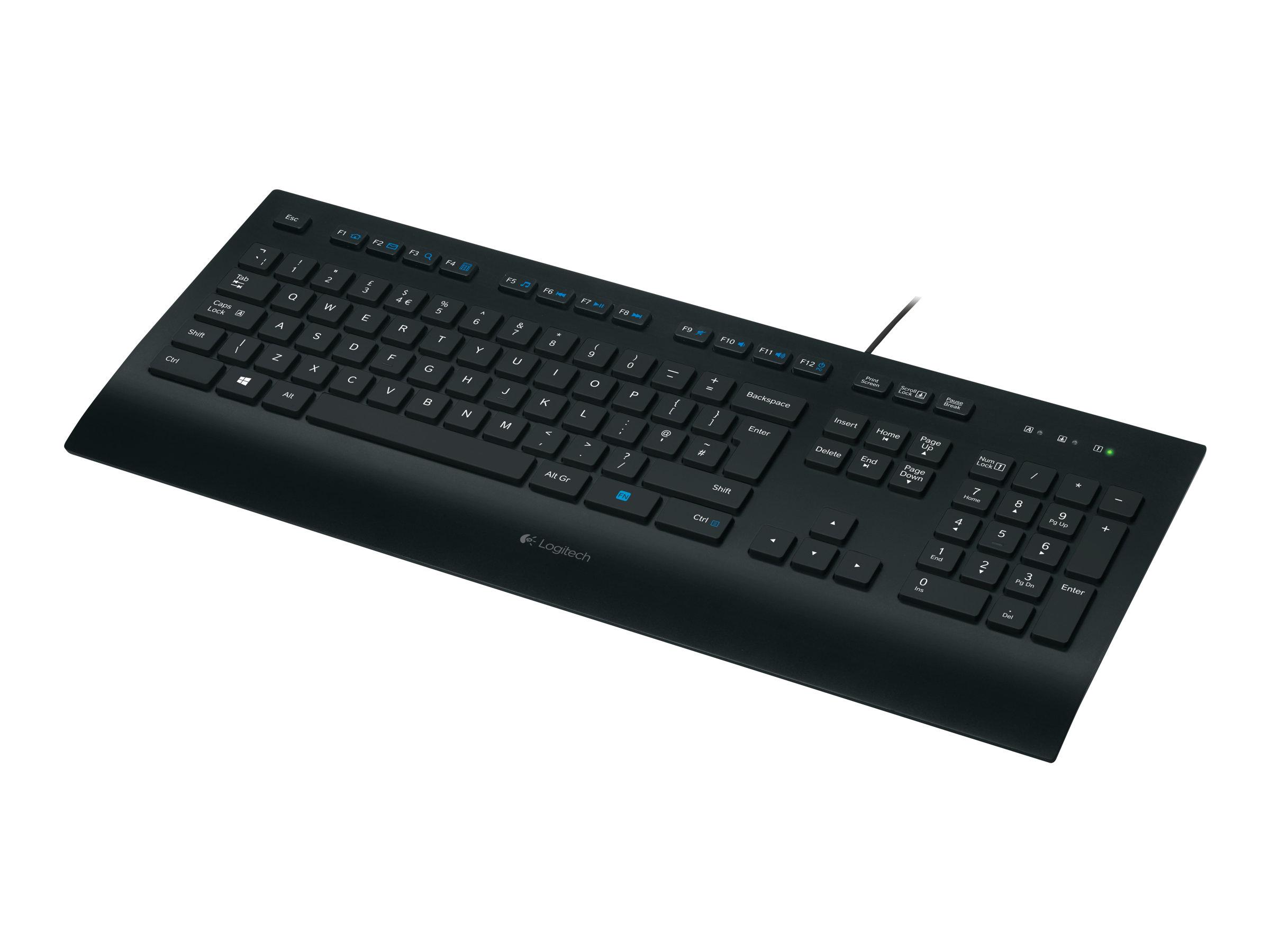 K280e tastatur usb deutsch schwarz 8350049 920 008669