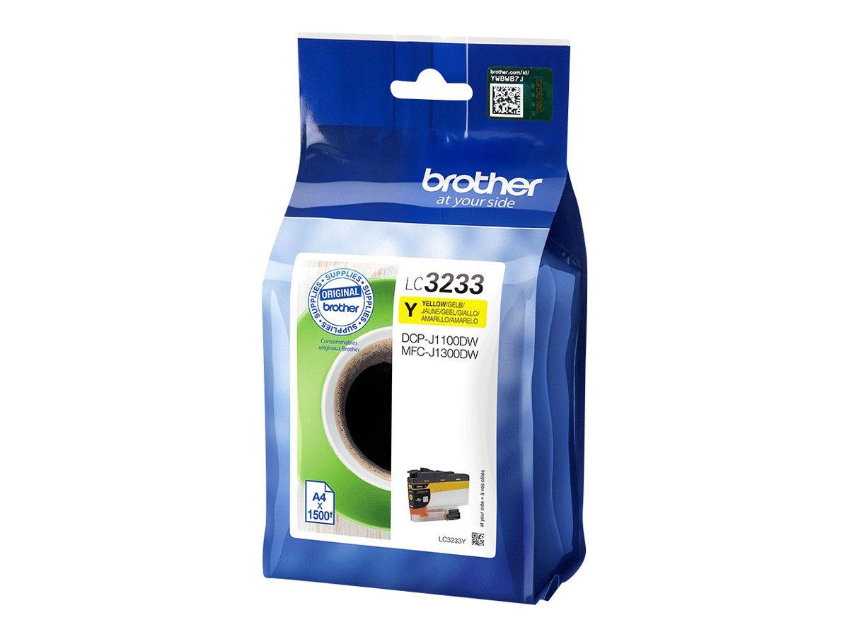 Lc3233y dark yellow original druckerpatrone fuer brother dcp j1100dw mfc j1300dw 9957740 lc3233y