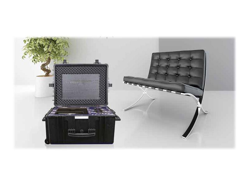leba notecase oslo aufbewahrungsbox f r 16 tablets von. Black Bedroom Furniture Sets. Home Design Ideas