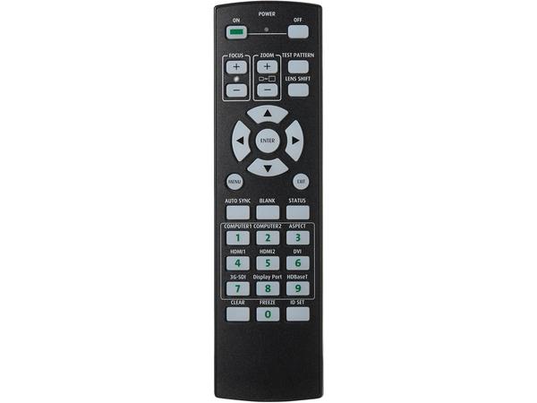 Lx rc01 projektorfernbedienung infrarot fuer lx mu700 5767080 0954c001