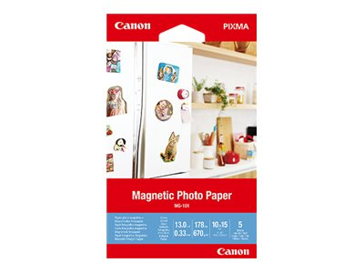 Magnetic photo paper mg 101 glaenzend 13 mil 100 x 150 mm 670 g m 178 pfund 10771421 3634c002