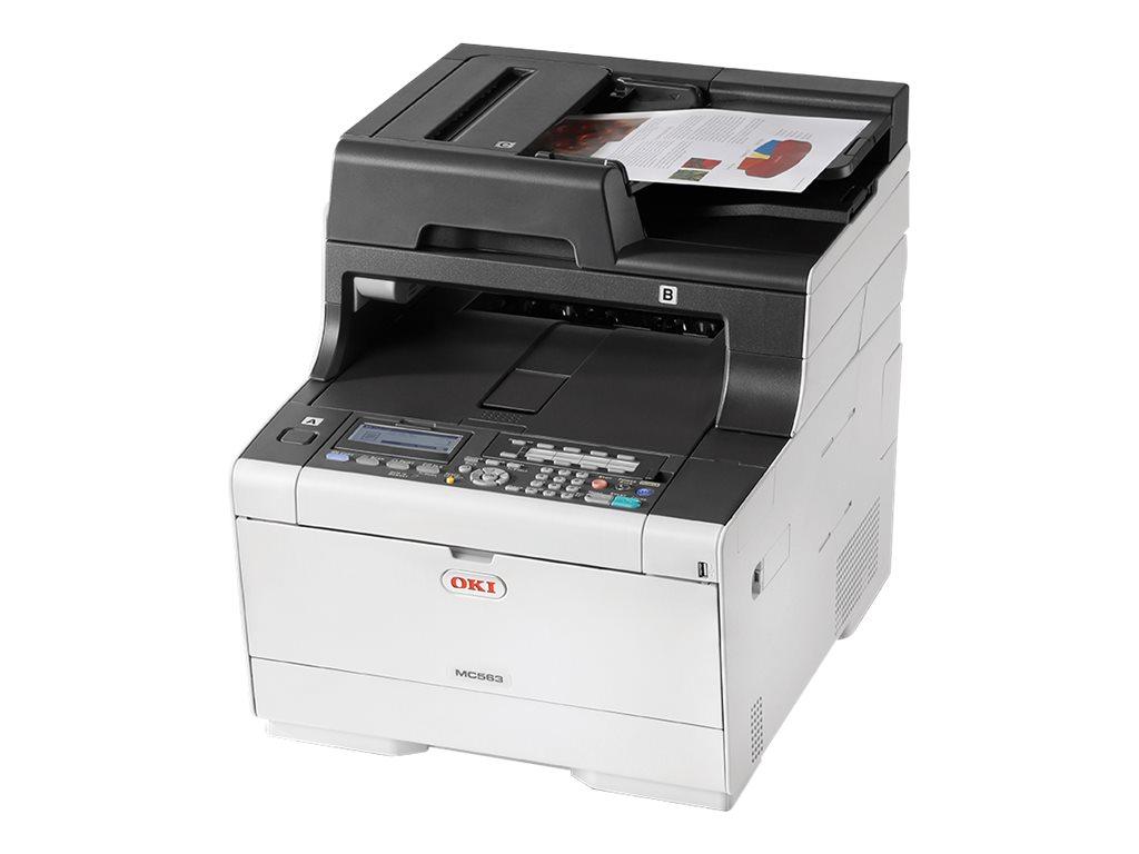 Mc563dn multifunktionsdrucker farbe led a4 210 x 297 mm original a4 medien 6837216 46357132