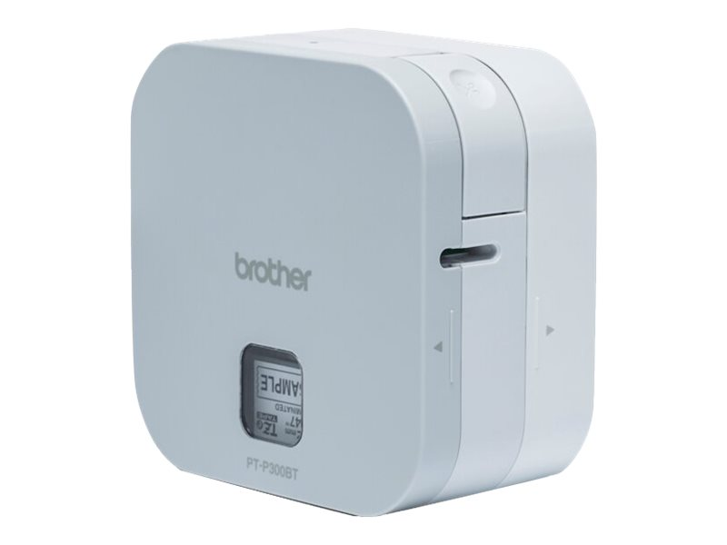 P touch cube pt p300bt etikettendrucker thermotransfer rolle 1 2 cm 180 dpi bis zu 20 mm sek 15581004 ptp300btrg2