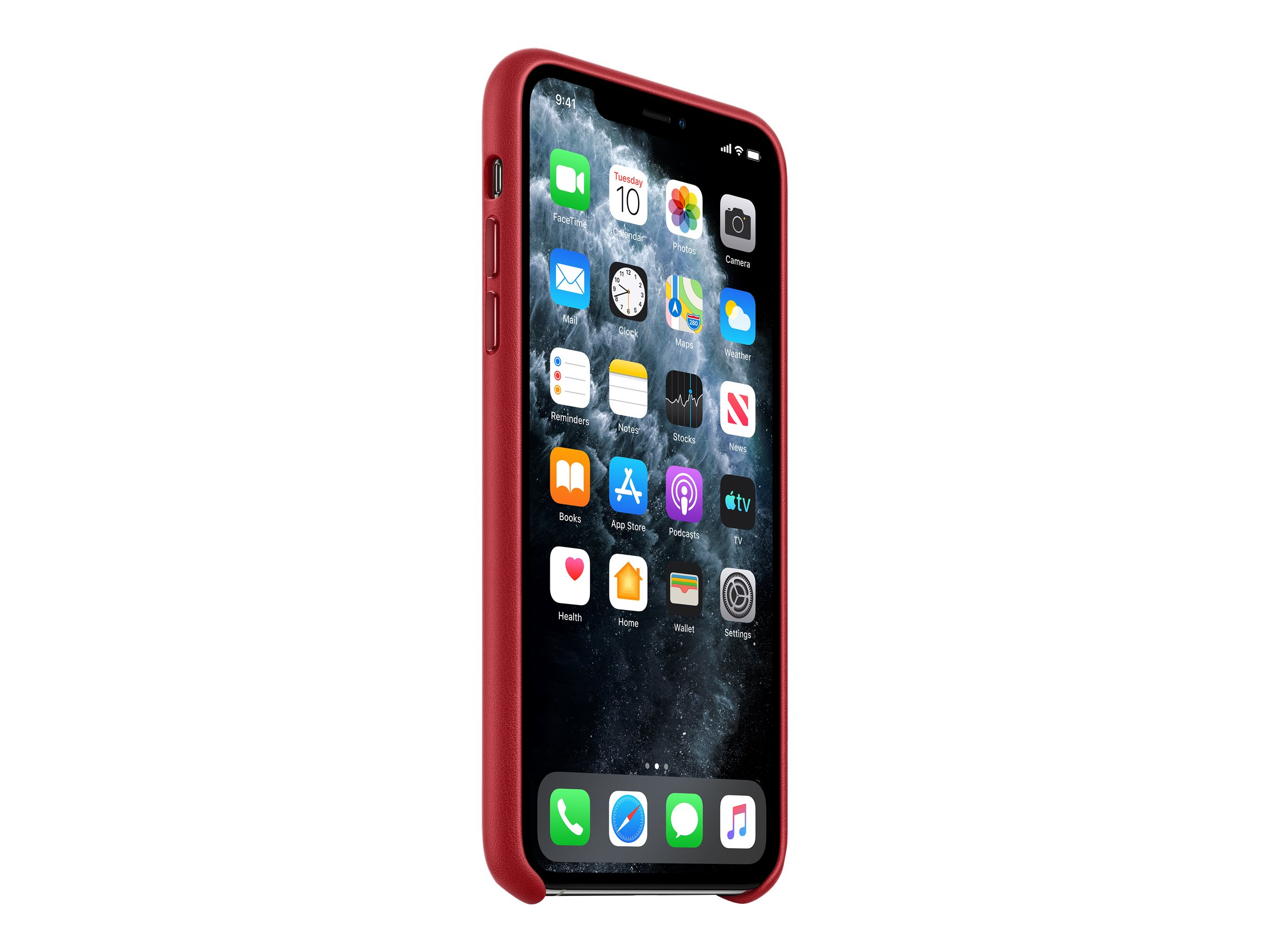 Product red hintere abdeckung fuer mobiltelefon leder rot fuer iphone 11 pro max 11867107 mx0f2zm a