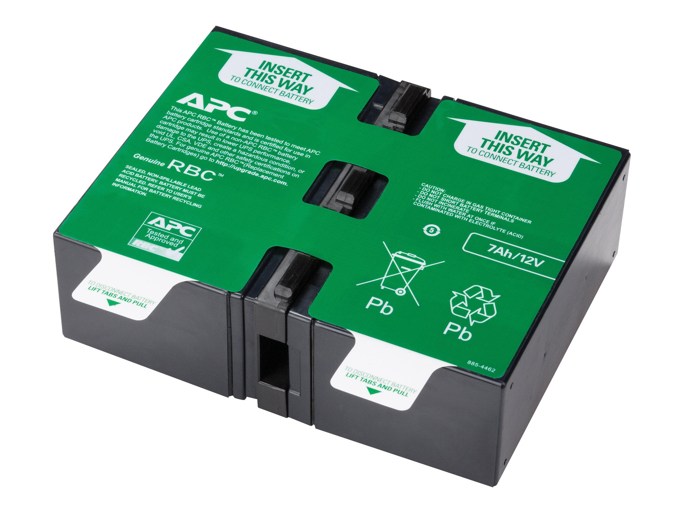 Replacement battery cartridge 123 usv akku 1 x bleisaeure fuer p n bn1350g bx1000g ca bx1350m smt750rm2uc smt750rm2unc smt750rmi2uc smt750rmi2unc 1886212 apcrbc123