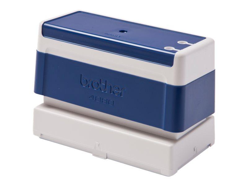 Stempel schwarz 40 x 90 mm blau packung mit 6 fuer stampcreator pro sc 2000usb 2944282 pr4090e6p