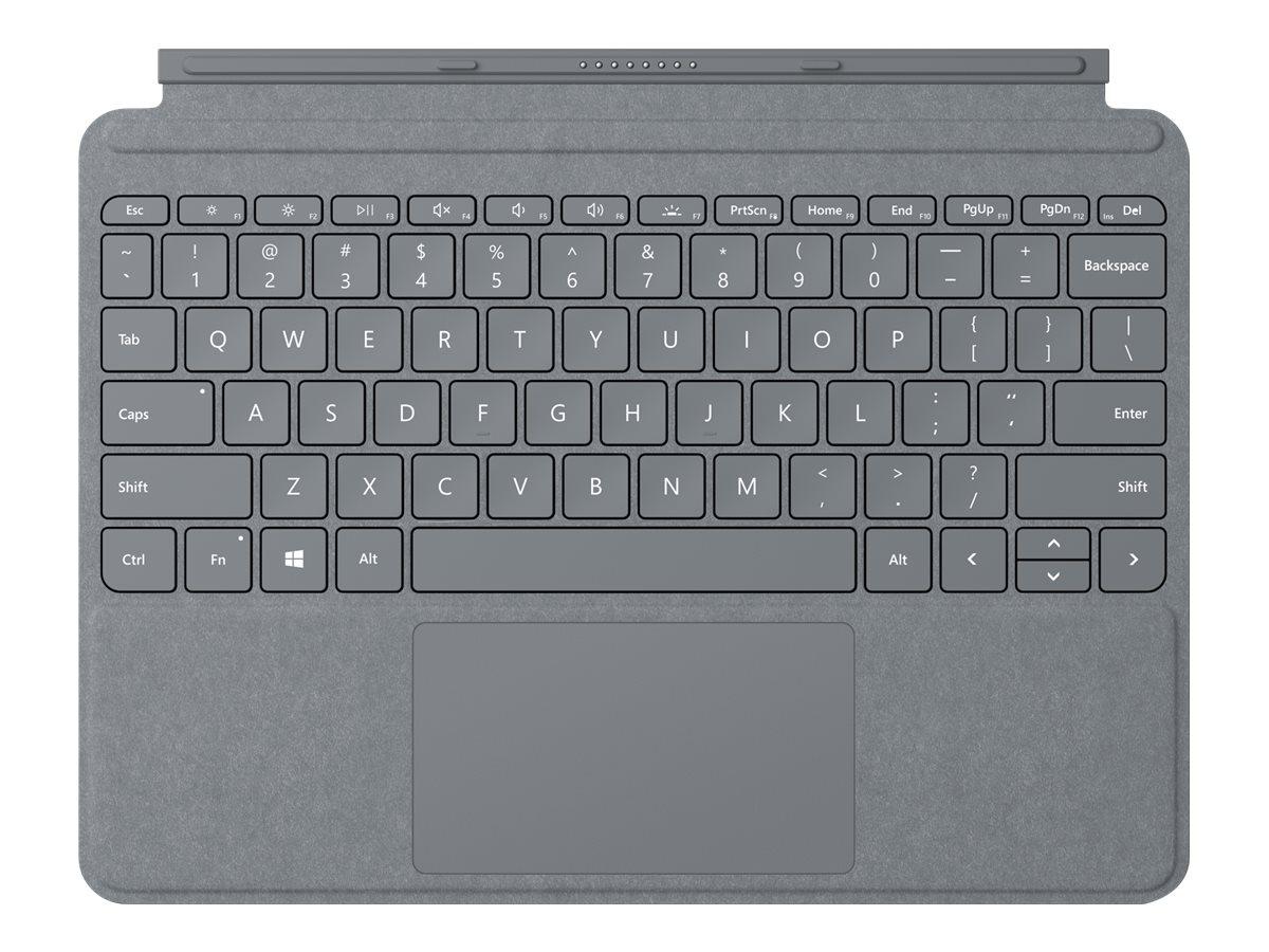 Surface go signature type cover tastatur mit trackpad beschleunigungsmesser hinterleuchtet deutsch platin 9321731 kct 00005