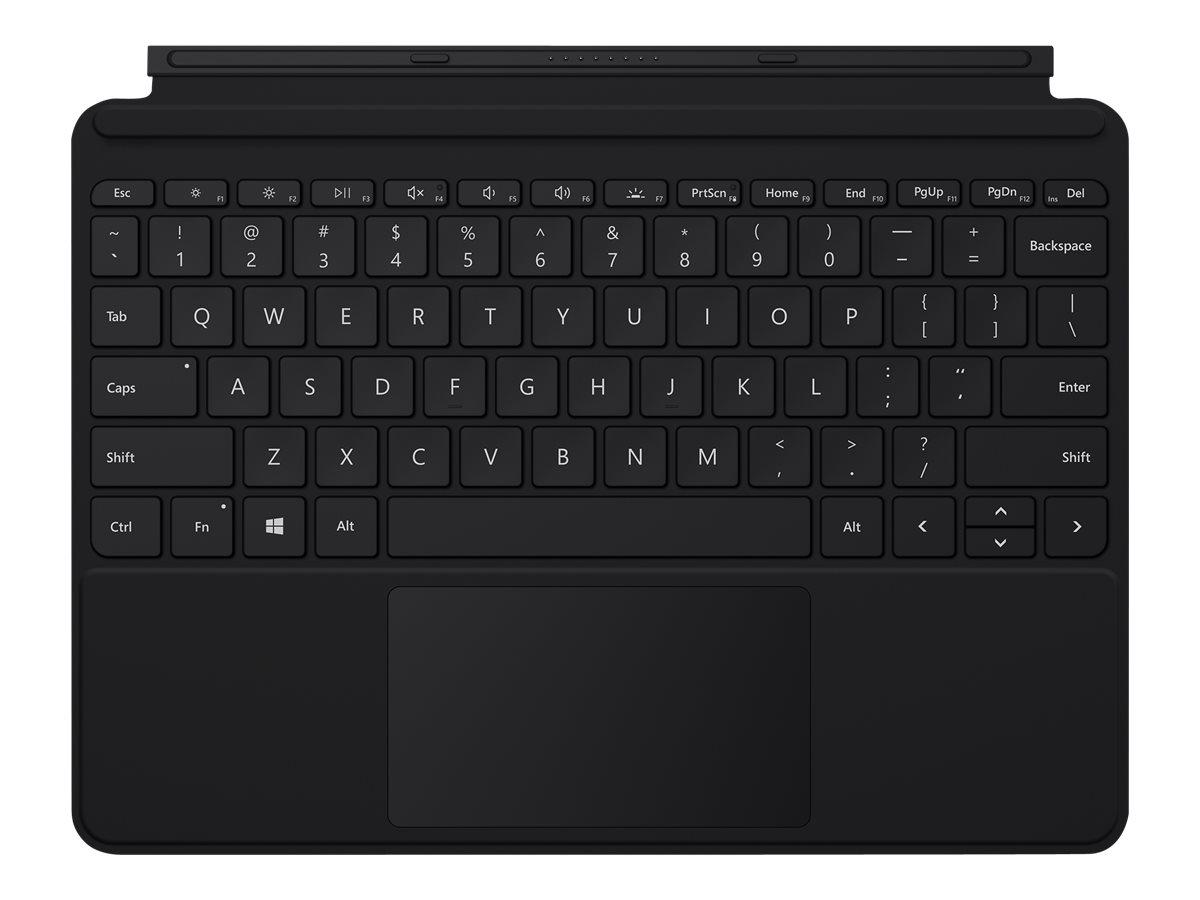 Surface go type cover tastatur mit trackpad beschleunigungsmesser hinterleuchtet deutsch schwarz 12933328 kcm 00029