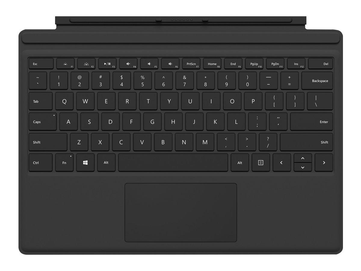 Surface pro type cover m1725 tastatur mit trackpad beschleunigungsmesser deutsch schwarz fuer surface pro mitte 2017 pro 3 pro 4 pro 6 pro 7 7713922 fmm 00005