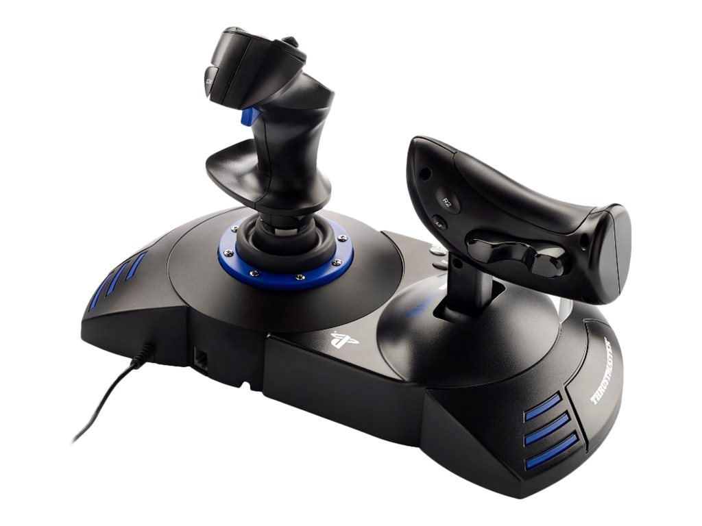 T flight hotas 4 ace combat 7 limited edition joystick kabelgebunden fuer pc sony playstation 4 8202507 4160647