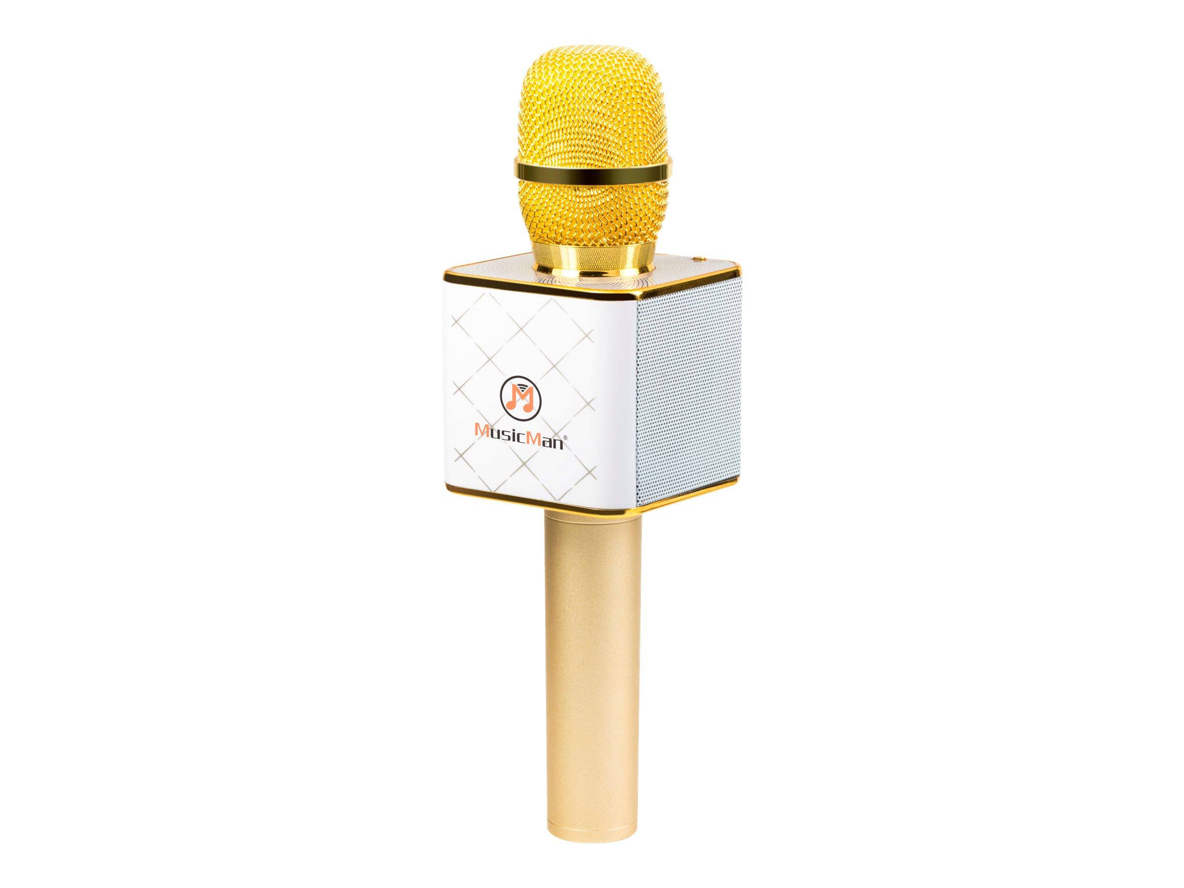 Technaxx musicman bt x31 mikrofon weiss gold 7365398 4685